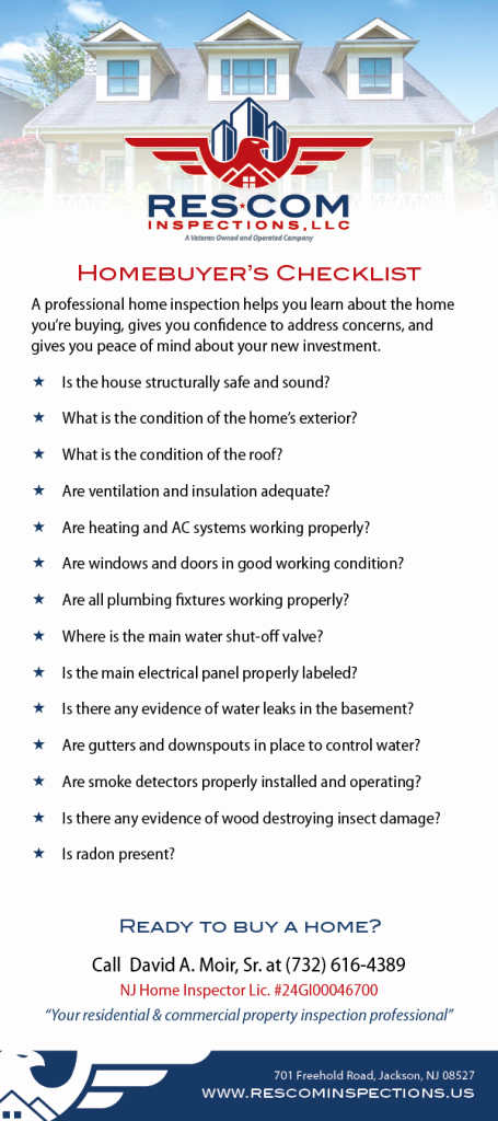 Professional Home Inspection Checklist Lovely Home Ers Res Inspections Llc
