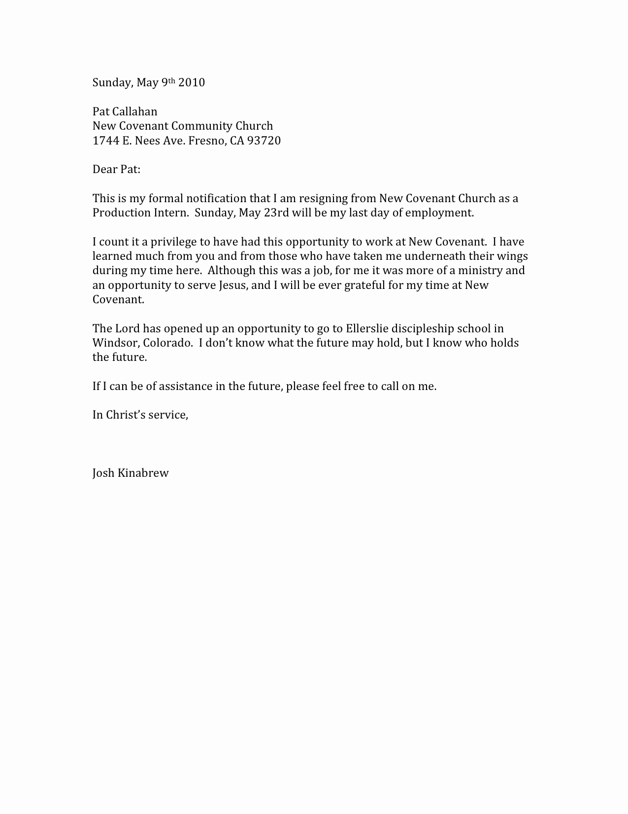 Professional Letter Of Resignation Lovely 12 Cool Letters Of Resignation Sample