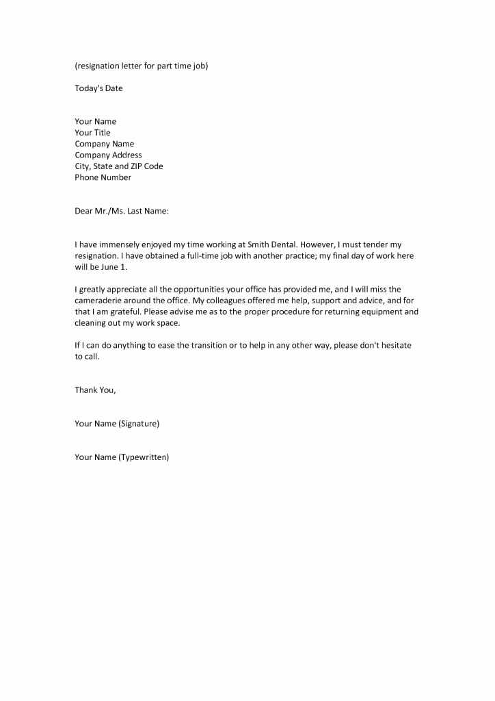 Professional Letter Of Resignation Luxury Appreciation Letter to Resigned Employee 28 Images