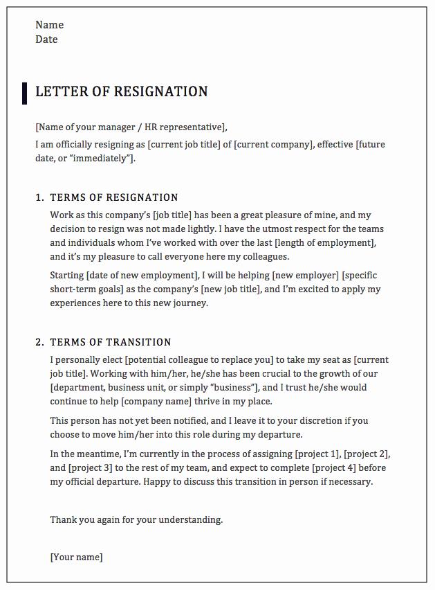 Professional Resignation Letter Sample Best Of How to Write A Professional Resignation Letter [samples