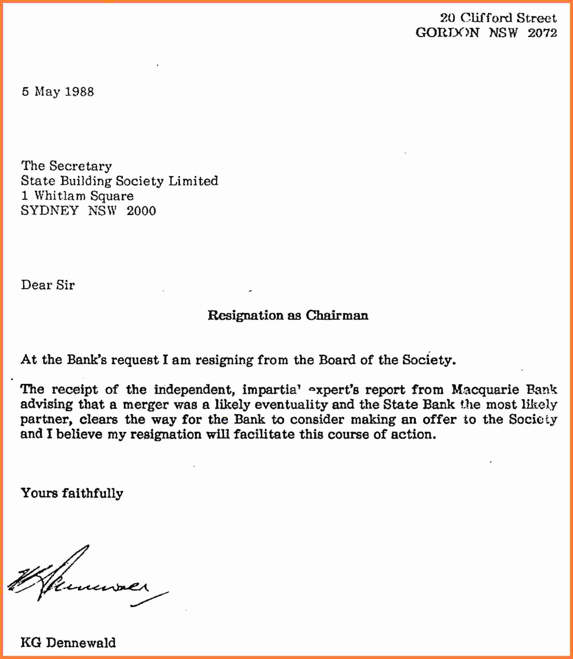 Professional Resignation Letter Sample Elegant 11 Professional Letter Of Resignation