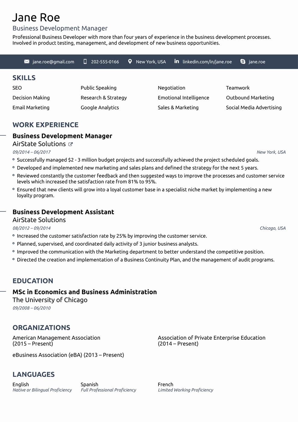 Professional Resume Template Free Awesome 2018 Professional Resume Templates as they Should Be [8 ]