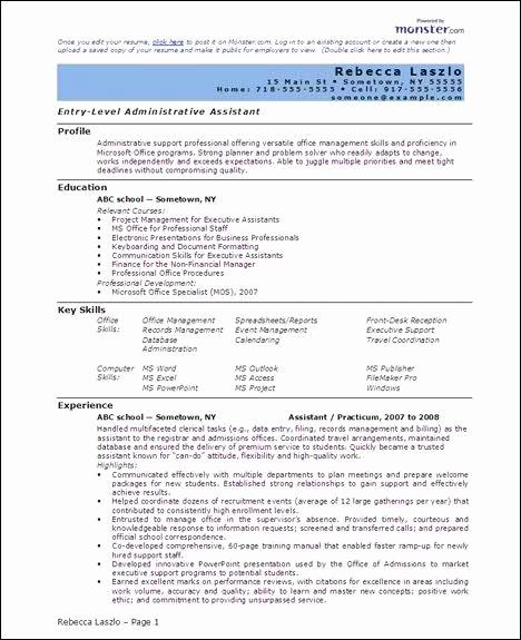 Professional Resume Template Free Beautiful Free 6 Microsoft Word Doc Professional Job Resume and Cv