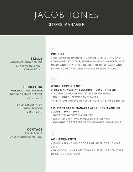 Professional Resume Template Free Inspirational Customize 298 Professional Resume Templates Online Canva