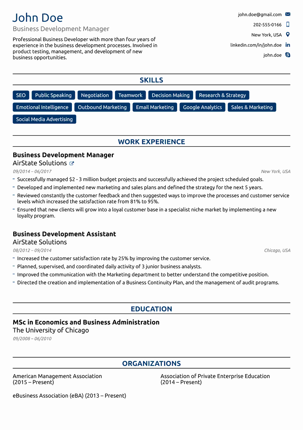 Professional Resume Template Free Lovely 2018 Professional Resume Templates as they Should Be [8 ]