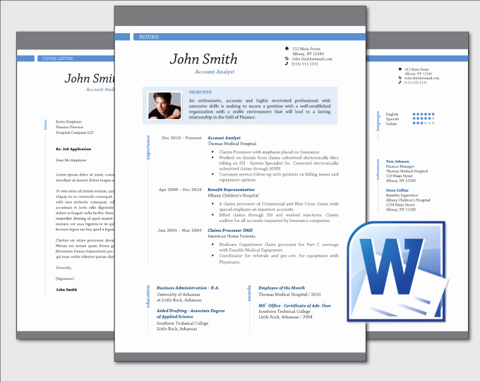 Professional Resume Template Word Inspirational Design Clean Professional Resume Cv Template Word