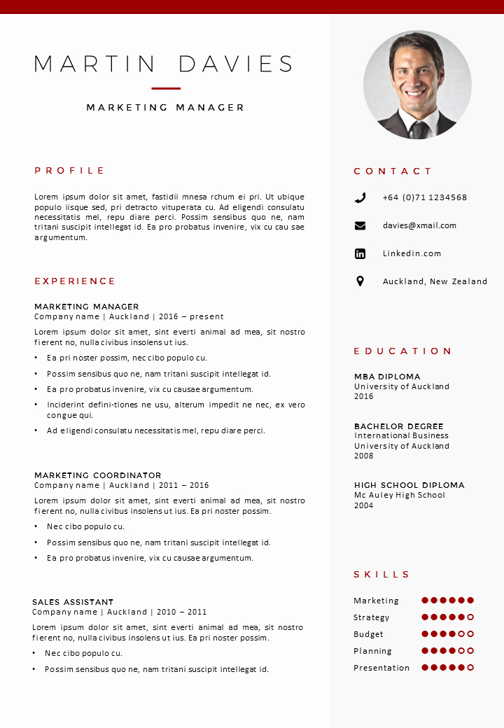 Professional Resume Template Word New Professional Cv Template Auckland Gosumo Cv Template