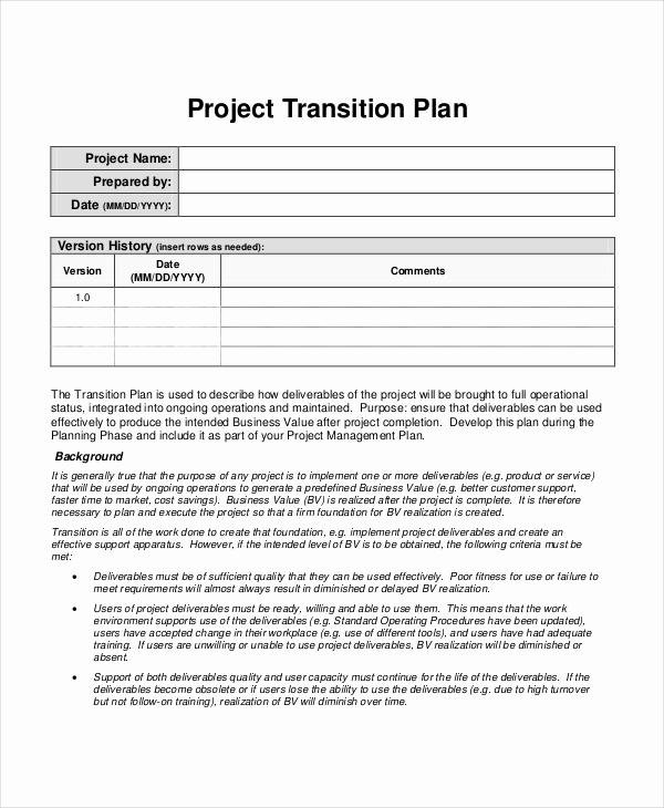 Project Plan Template Word Awesome Project Plan Template 20 Free Word Pdf Document
