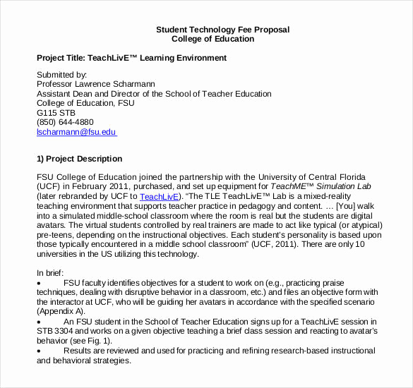 Project Proposal Sample for Students Inspirational 47 Project Proposal Templates Doc Pdf