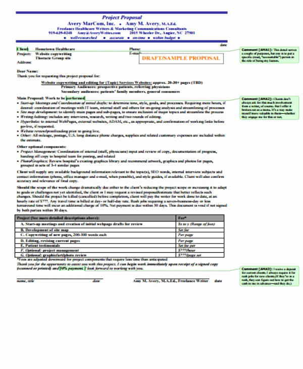 Project Proposal Sample for Students New 14 Student Project Proposal Templates Pdf Doc
