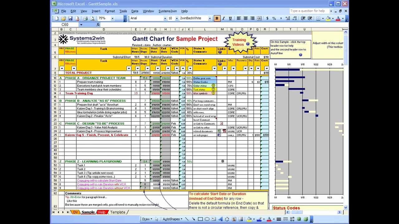 Project Schedule Template Excel Best Of Excel Gantt Chart Project Plan