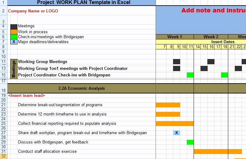 Project Schedule Template Excel New House Cleaning Schedule Templates In Excel