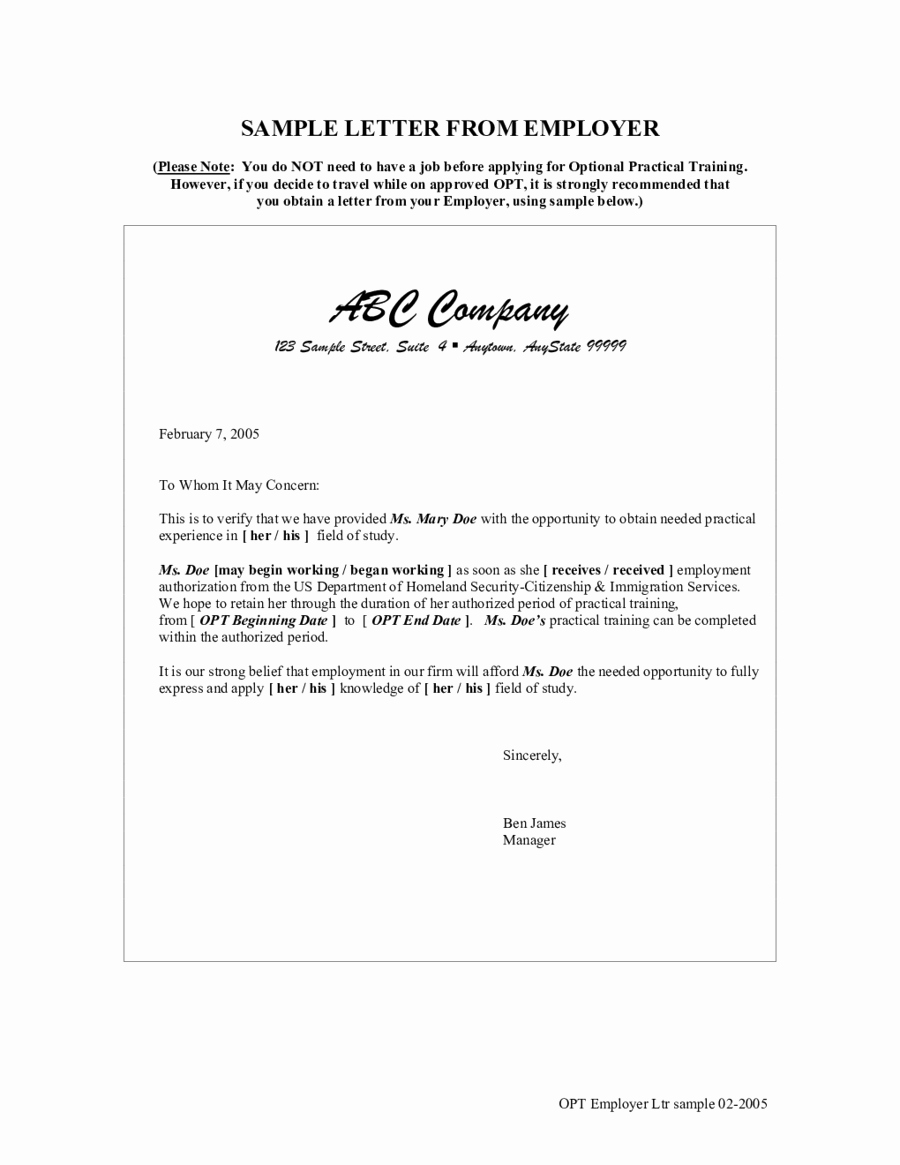 Proof Of Employment Letter Template Best Of 2019 Proof Of Employment Letter Fillable Printable Pdf