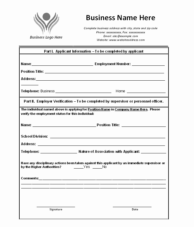 Proof Of Employment Letter Template Fresh 40 Proof Of Employment Letters Verification forms & Samples