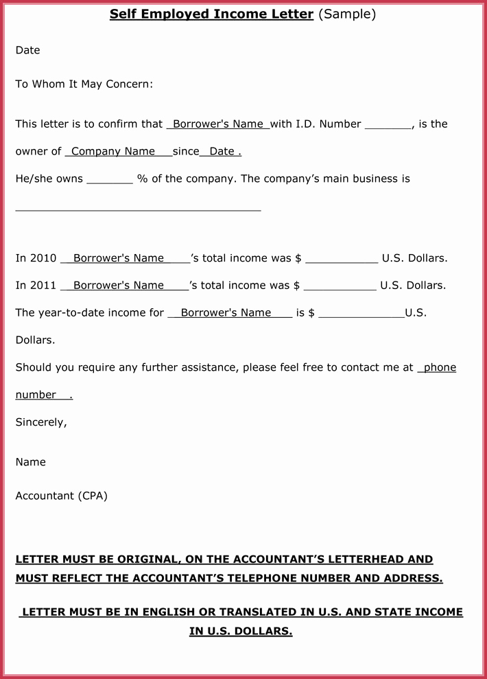 Proof Of Income Letter Sample Best Of Proof Of In E Letter 20 Samples formats In Pdf & Word