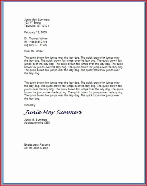 Proper format for A Letter Beautiful How to Type A Professional Letter something I Have Really
