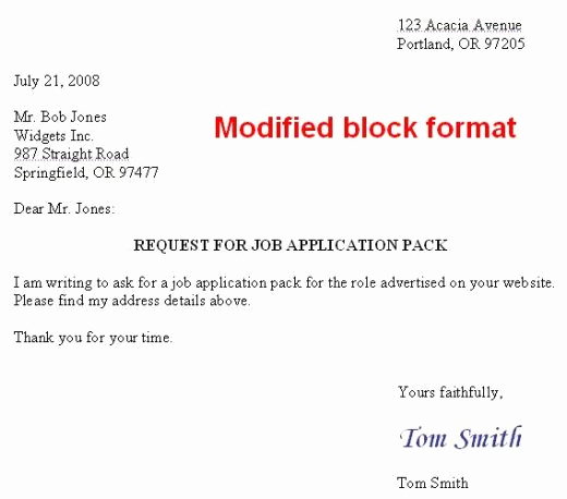 Proper format for A Letter Fresh How to format A Us Business Letter