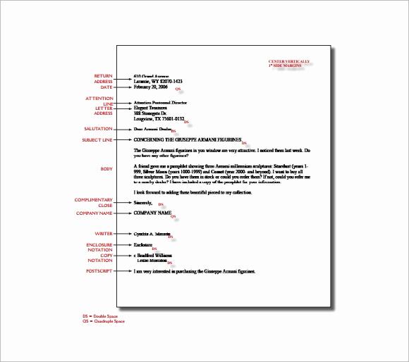 Proper format for A Letter Lovely 14 Proper Letter formats Free Sample Example format