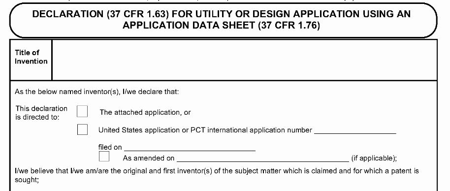 Provisional Patent Application form Unique Invention Info Road From Idea to Patent to Product the