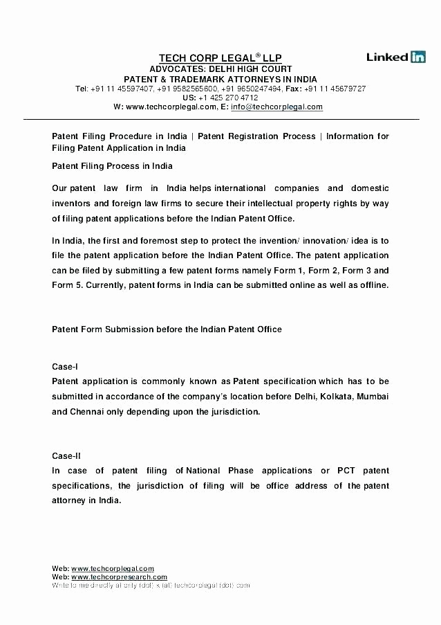 Provisional Patent Application Template Awesome Provisional Patent Application Example