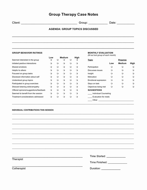 Psychotherapy Progress Notes Template Lovely Psychotherapy Progress Notes Template Google Search