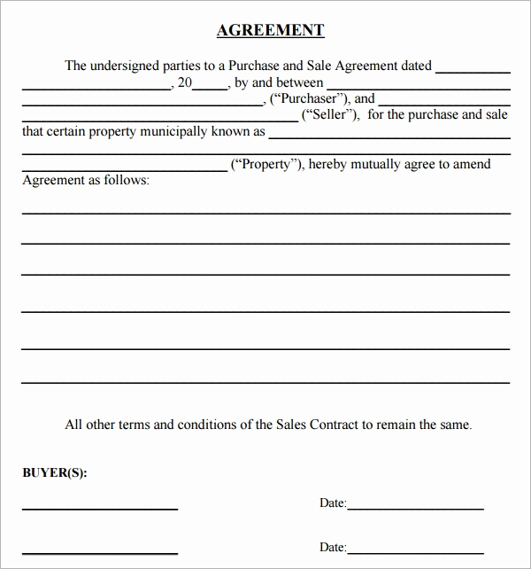 Purchase Agreement Template Word Beautiful Purchase Agreement 15 Download Free Documents In Pdf Word