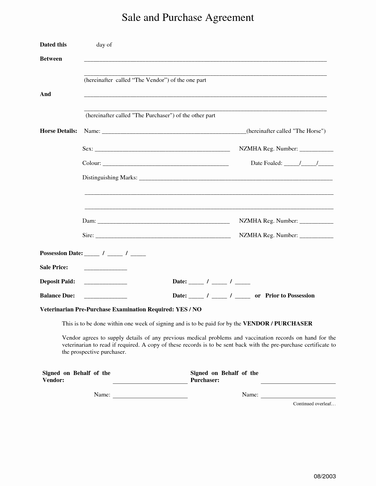 Purchase and Sale Agreement form Best Of 30 Fast Sales and Purchase Agreement Sample Yu A