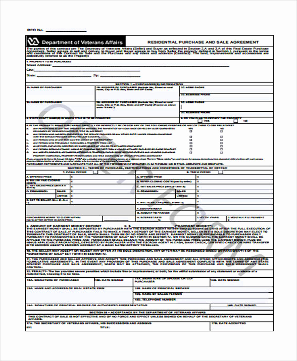 Purchase and Sale Agreement form Elegant 32 Sales Agreement form In Pdf