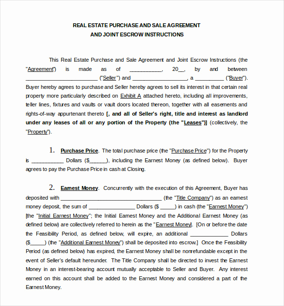 Purchase and Sale Agreement form Inspirational 27 Sales Agreement Templates Word Google Docs Apple