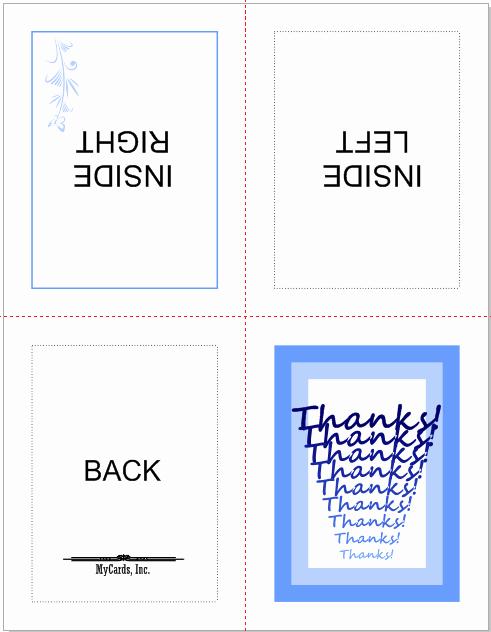 Quarter Fold Card Template Elegant Not Brochure but Like A Card Coreldraw Graphics Suite