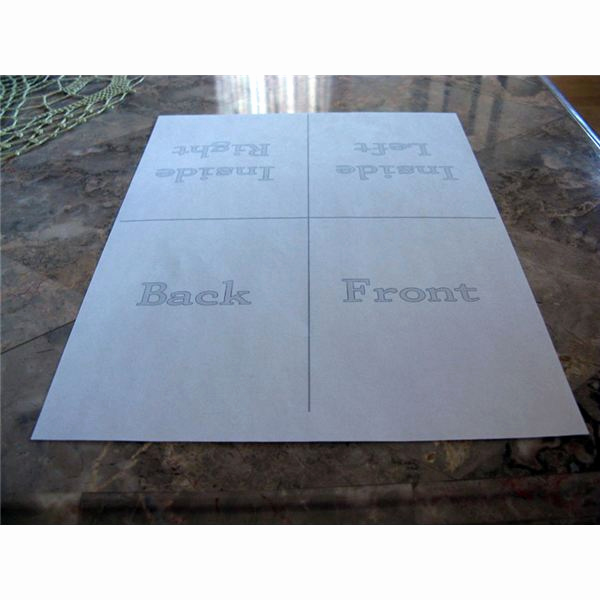 Quarter Fold Card Template New Creating Your Own Quarter Fold Printable Cards