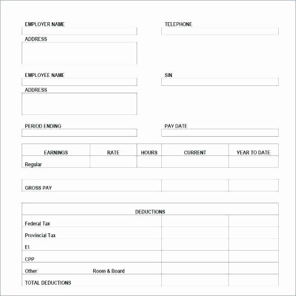 Quickbooks Pay Stub Template Best Of Create A Pay Stub with Quickbooks