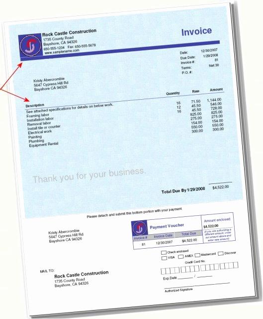 Quickbooks Pay Stub Template Fresh Quickbooks Invoice Envelope Bination form