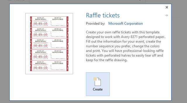 Raffle Ticket Template Word Lovely How to Get A Free Raffle Ticket Template for Microsoft Word