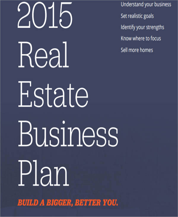 Real Estate Business Plan Template Fresh Real Estate Sales Plan Template 6 Free Word Pdf format