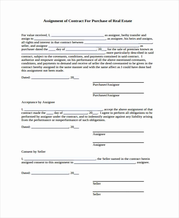 Real Estate Contract form Luxury Sample Contract forms