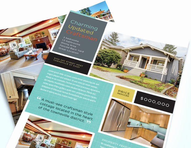 Real Estate Flyer Ideas Lovely 7 Real Estate Flyers that Get Noticed