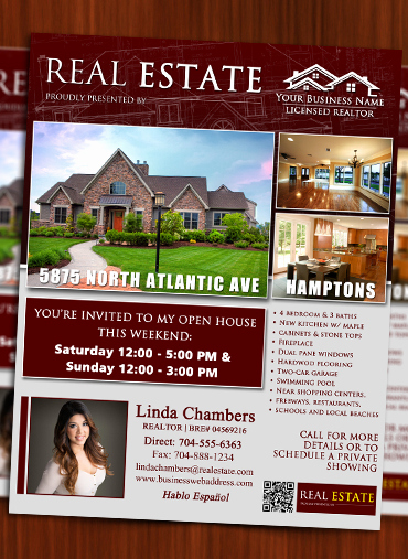 Real Estate Flyer Ideas Luxury Real Estate Listing Brochure