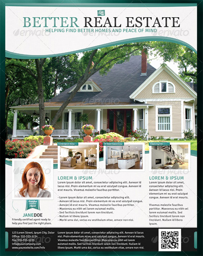 Real Estate Flyer Templates Awesome Newsletter Design Ad Design and Marketing Ideas On Pinterest