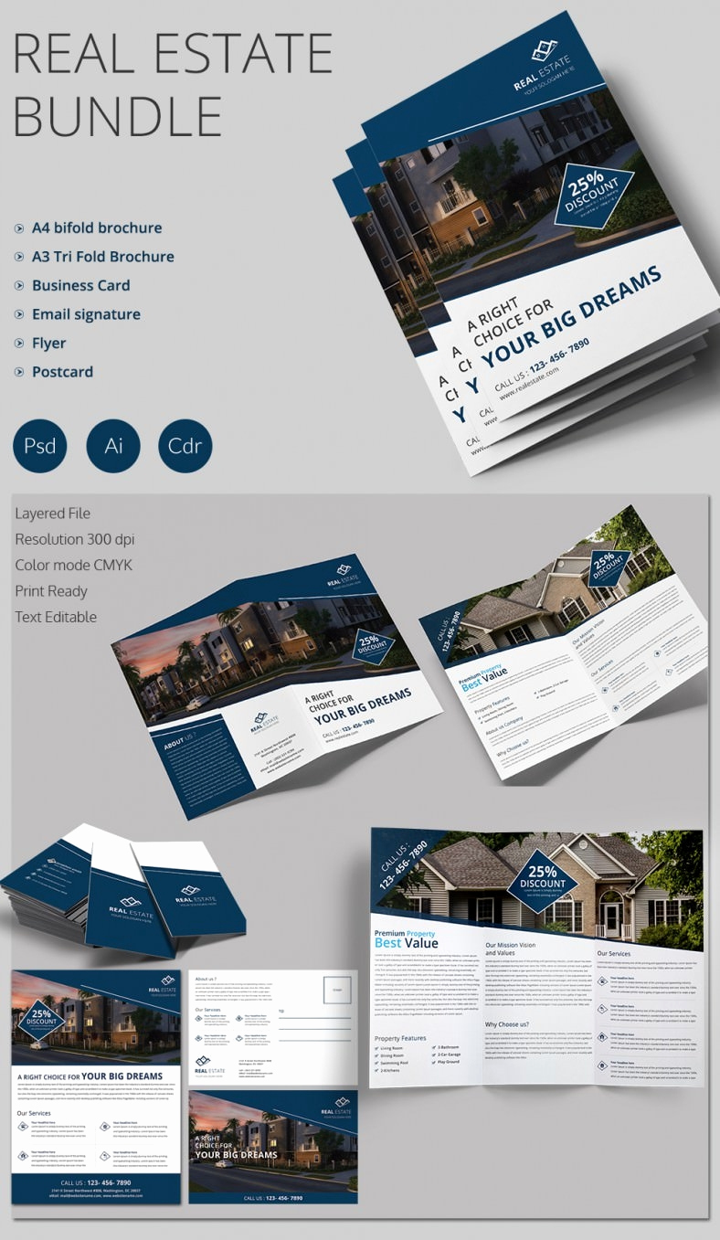 Real Estate Flyer Templates Awesome Real Estate Flyer Template 37 Free Psd Ai Vector Eps
