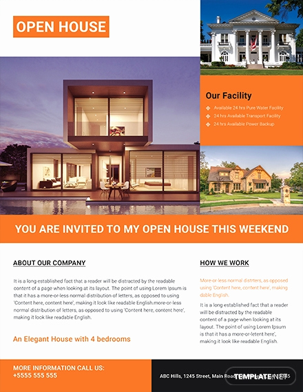 Real Estate Flyer Templates Elegant 29 Free Real Estate Flyer Templates