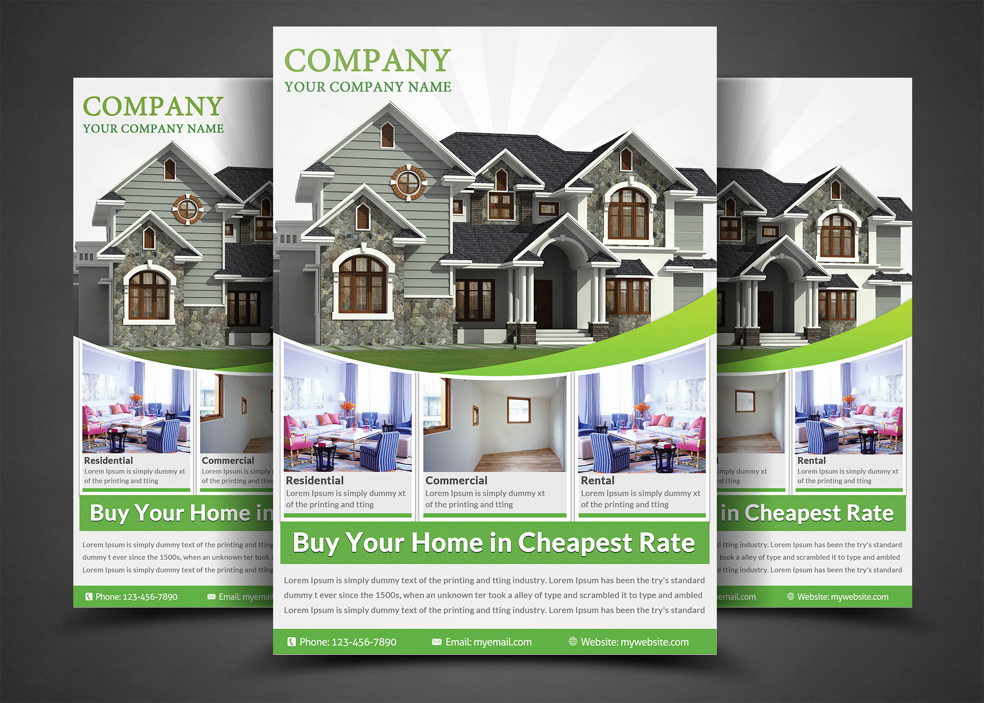 Real Estate Flyer Templates Fresh Real Estate Flyer Template Flyer Templates On Creative