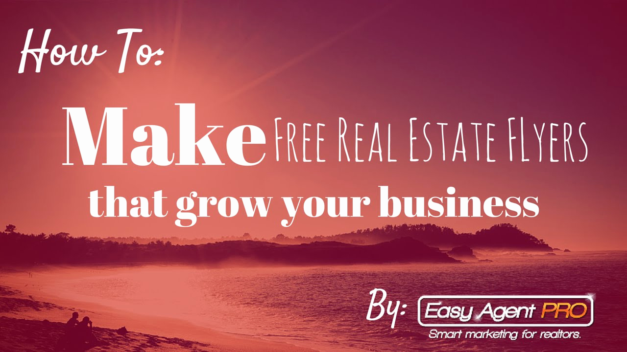 Real Estate Flyer Templates Inspirational How to Make Free Real Estate Flyer Templates In Under 3
