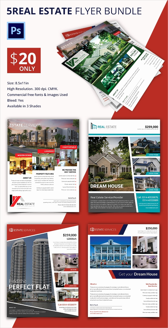 Real Estate Flyer Templates Lovely Real Estate Flyer Template 37 Free Psd Ai Vector Eps