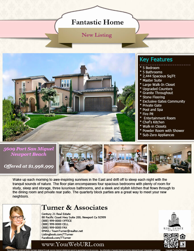 Real Estate Flyer Templates Lovely Real Estate Flyers Pdf Templates Turnkey Flyers