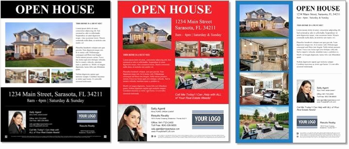 Real Estate Flyer Templates New top 25 Real Estate Flyers & Free Templates