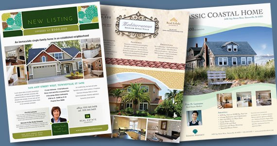 Real Estate Marketing Flyers Beautiful Real Estate Flyers – Graphic Designs & Marketing Ideas
