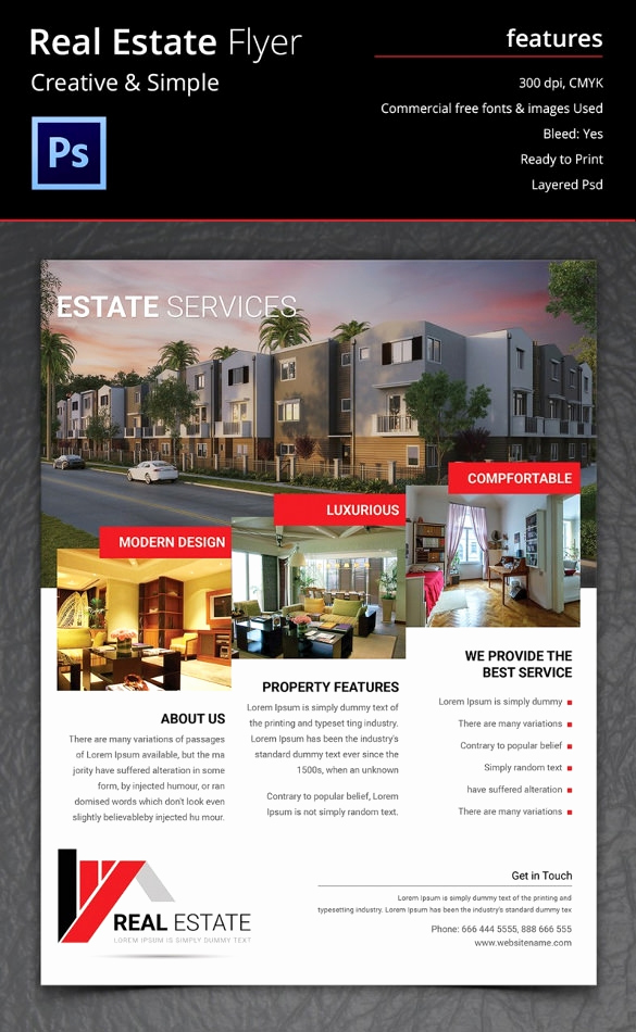Real Estate Marketing Flyers Luxury Real Estate Flyer Template 37 Free Psd Ai Vector Eps