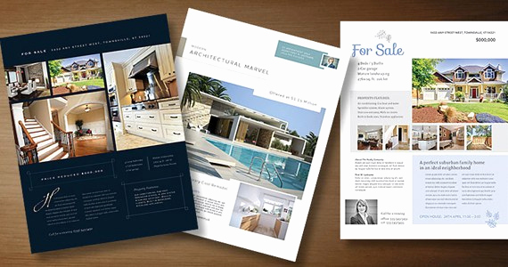 Real Estate Marketing Flyers Unique Real Estate Flyer Templates to Market Your Property