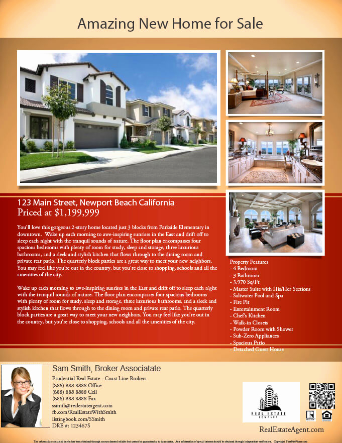 Real Estate Marketing Flyers Unique Real Estate Flyers Pdf Templates Turnkey Flyers
